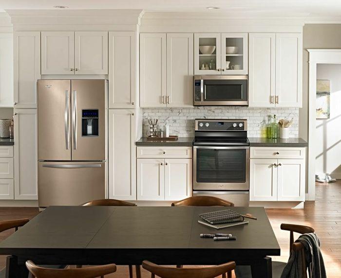 1001 Variantes De La Cuisine Equipee Moderne Kitchen White