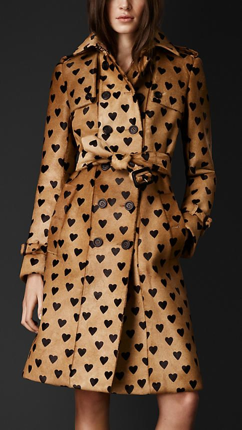 Burberry Heart Trench Coat