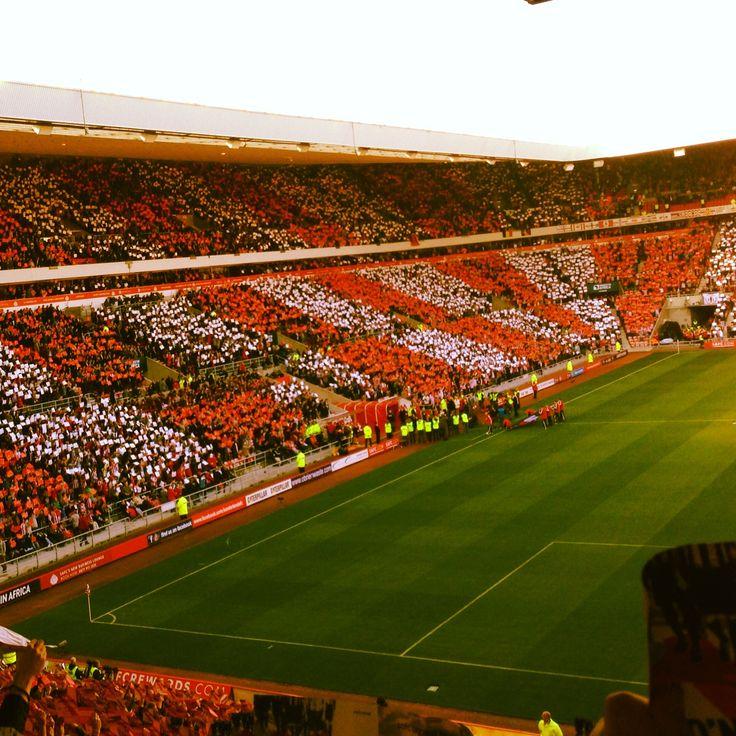Sunderland afc tifo display