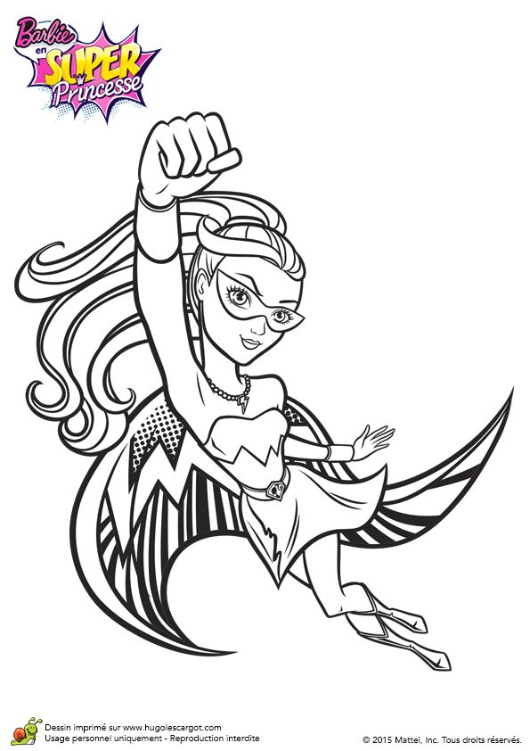 58 best barbie coloring pages images on Pinterest | Barbie ...
