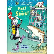 K- 2nd grade. This is a Cat in the Hat informative book all about sharks. This is a great book for science and talking about marine life, specifically a day all about sharks! It would also be a good independent read for higher level readers.