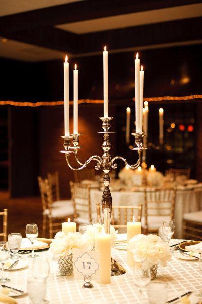 pretty reception table