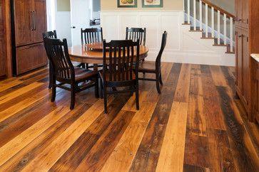 Best Antique American Wormy Chestnut Flooring Kitchen 400 x 300