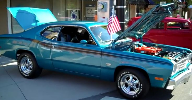 Gorgeous Numbers Matching 1974 Plymouth Duster 360. Double Click To Watch The Video