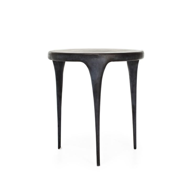 reevesdesign cast aluminum side table source outdoor furniture napa bar