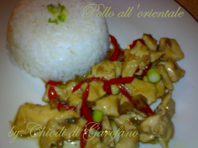 Pollo all'orientale http://blog.giallozafferano.it/chiodidigarofano/pollo-allorientale