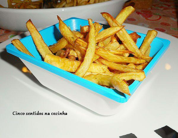 Cinco sentidos na cozinha: Batata - doce frita com orégãos