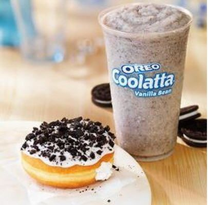 Dunkin' Donuts launches Oreo Donuts and Coolattas