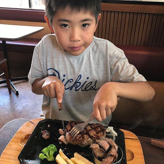 完全肉食系😅 #ビッグボーイ #肉 #ランチ