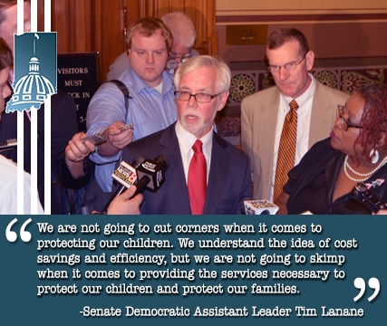 """""""We are not going to cut corners when it comes to protecting our children."""""""