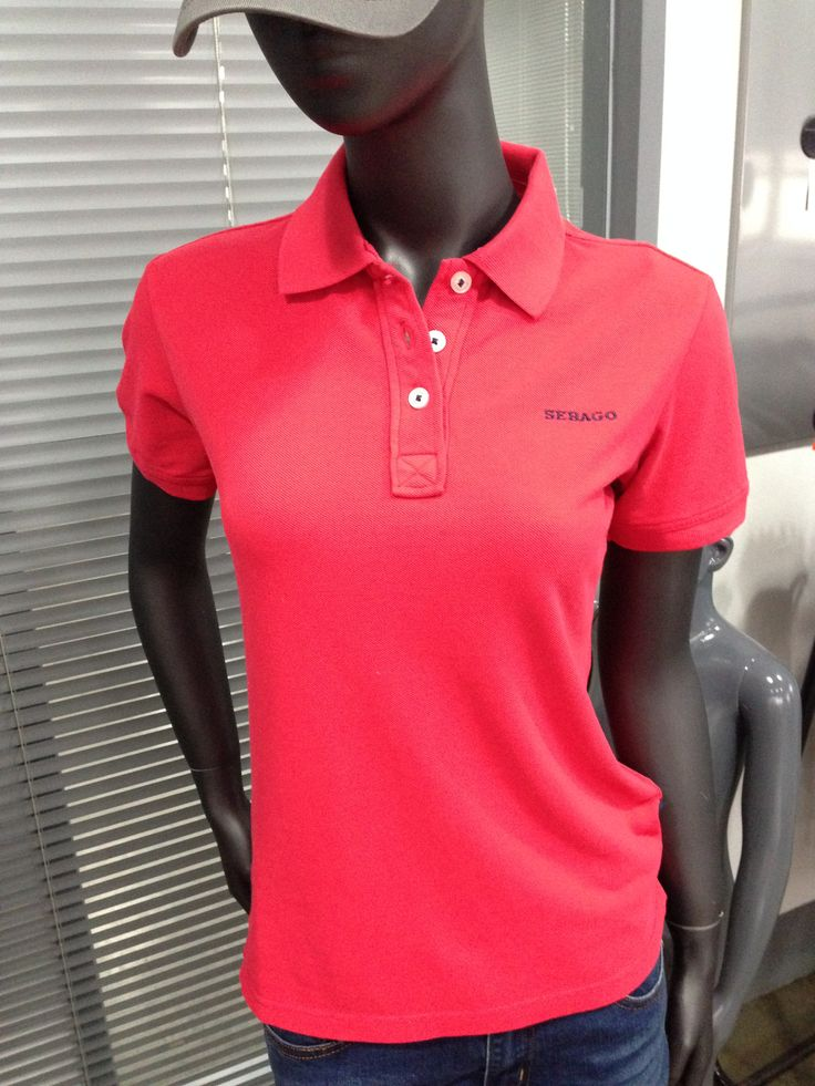 Lady polo shirt,garment dye