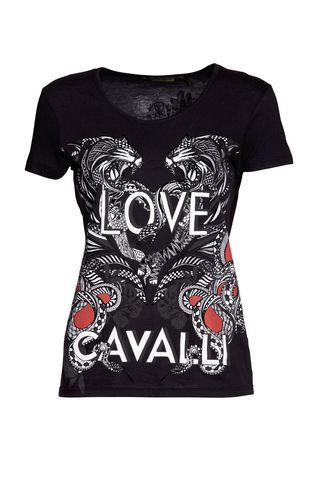 Short sleeve t-shirt Women - Tops & t-shirts Women on Roberto Cavalli Online Store