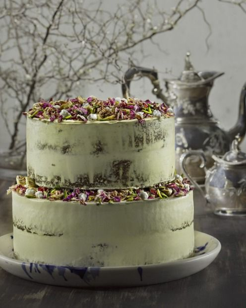 The Persian orange and fig cake is a popular Black Star Pastry wedding cake.