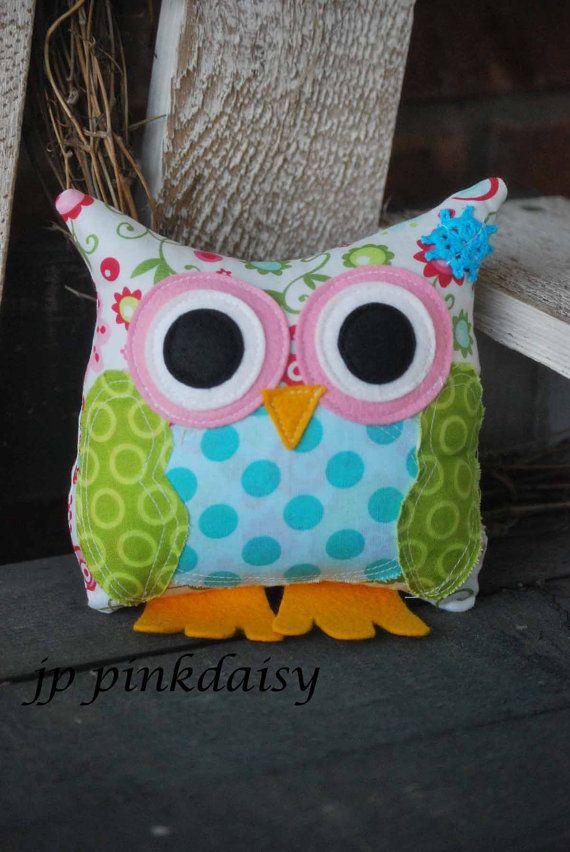 Owl Pillow / Smash Cake Topper /Diaper Cake Topper by jppinkdaisy, $27.00