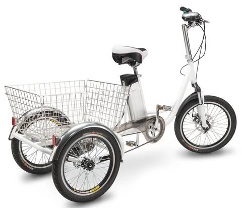 PET Scooters Electric Trike The PET Scooters Electric Trike is a great alternative to electric mobility scooters for those who still want to get exercise while getting around but want an electric bike