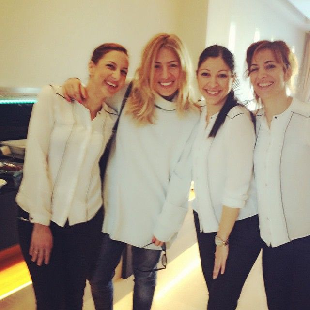 Maria Ilikaki, TV Hostess with her great company at #SamariaHotel! Photo credits: @markiiliaki