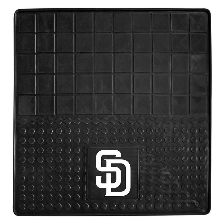 San Diego Padres MLB Vinyl Cargo Mat (31x31)