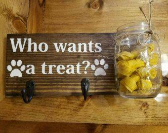 Decoración para mascotas perro correa y por TheFarmhouseMarkets