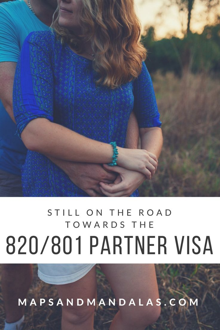 Still On The Road Towards The 820/801 Partner Visa