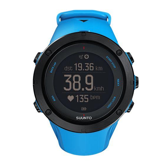 Suunto Ambit3 Peak Sapphire Blue - montre GPS pour les sports d'extérieur