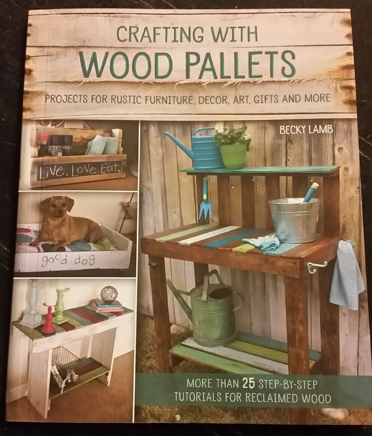 Win a copy of Crafting with Wood Pallets
