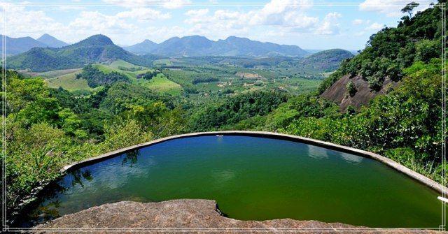 Natureza preservada no Mosteiro Zen Budista