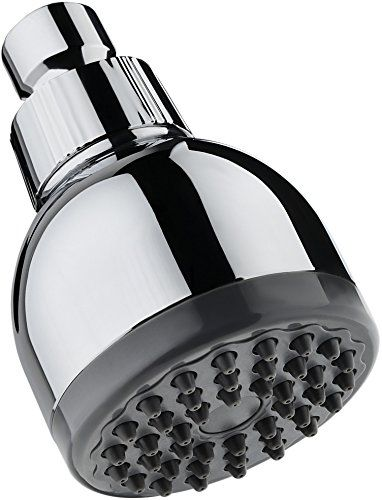 TurboSpa Ultra High Pressure Shower Head w/ Flow Restrictor Melts Stress into Bliss at Full Power. Adjustable 42 Nozzle Wide-Spray High Flow Shower Head Drenches You Fast, No Dry Spots Guaranteed. - Aqua Bliss Turbo-Spa: Drench Every Inch