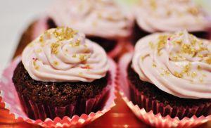 Chocolate cupcake and Mascarpone frosting