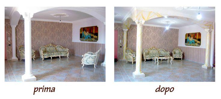 marilena palomba realizza dipinti su muro e decorazioni d'interni personalizzate