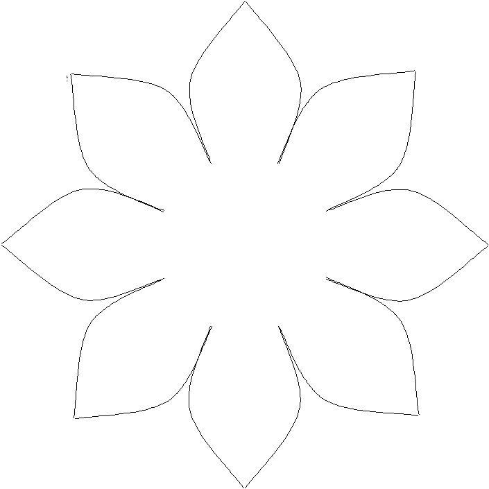 anneler günü çiçekli kart kalıbı (3)