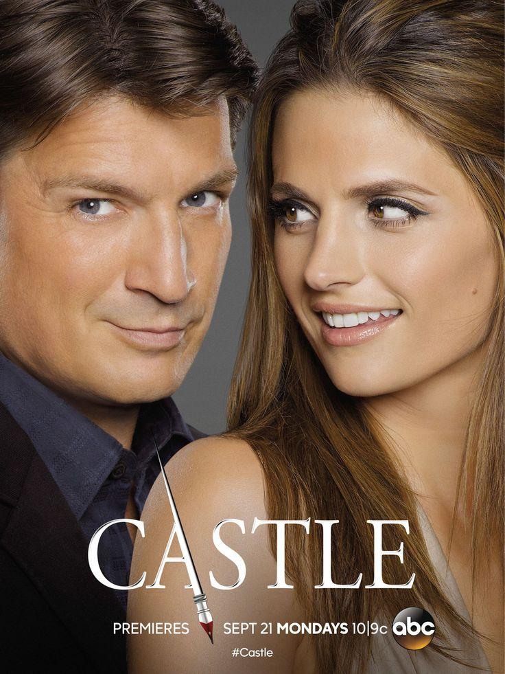 Could Beckett be worried about some competition in the new season of Castle?  In the first poster for season 8, Beckett (Stana Katic) may be keeping her eyes on her hubby Rick (Nathan Fillion) — but fans have nothing to worry about with the new introduction of security specialist Hayley Shipton (Toks Olagundoye).