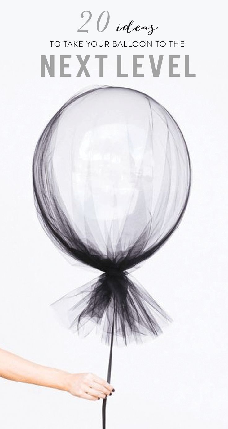 Easy ways to take your party balloon to the next level! www.stylemepretty