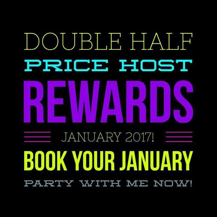 Double half price rewards for January 2017