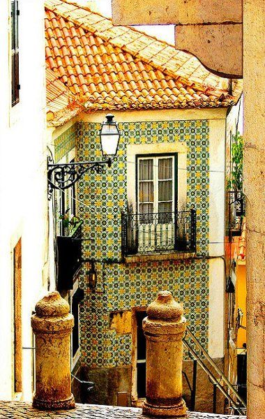 Travel Inspiration for Portugal - Alfama, Lisbon, Portugal