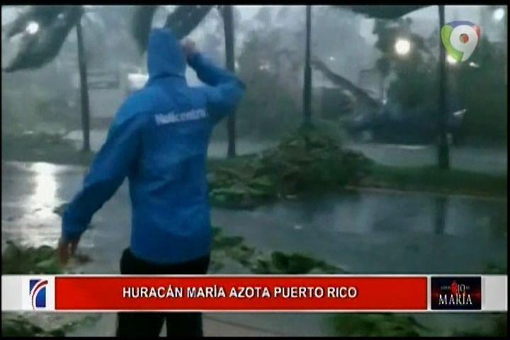 Imágenes De La Situación Actual Tras El Paso Del Huracán María Por Guaynabo, PR.
