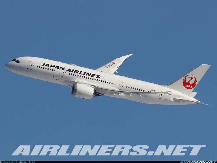 Japan Airlines Boeing 787-8 Dreamliner (Airliners.net)