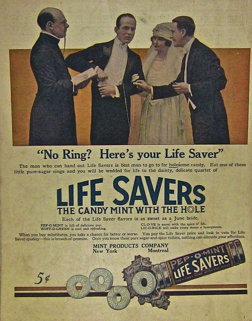 1930s Advertisement Life Savers Candy Vintage Ad by Christian Montone, via Flickr