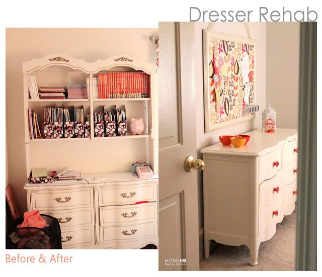 Great Blog With Organization Ideas And Furniture Remakes