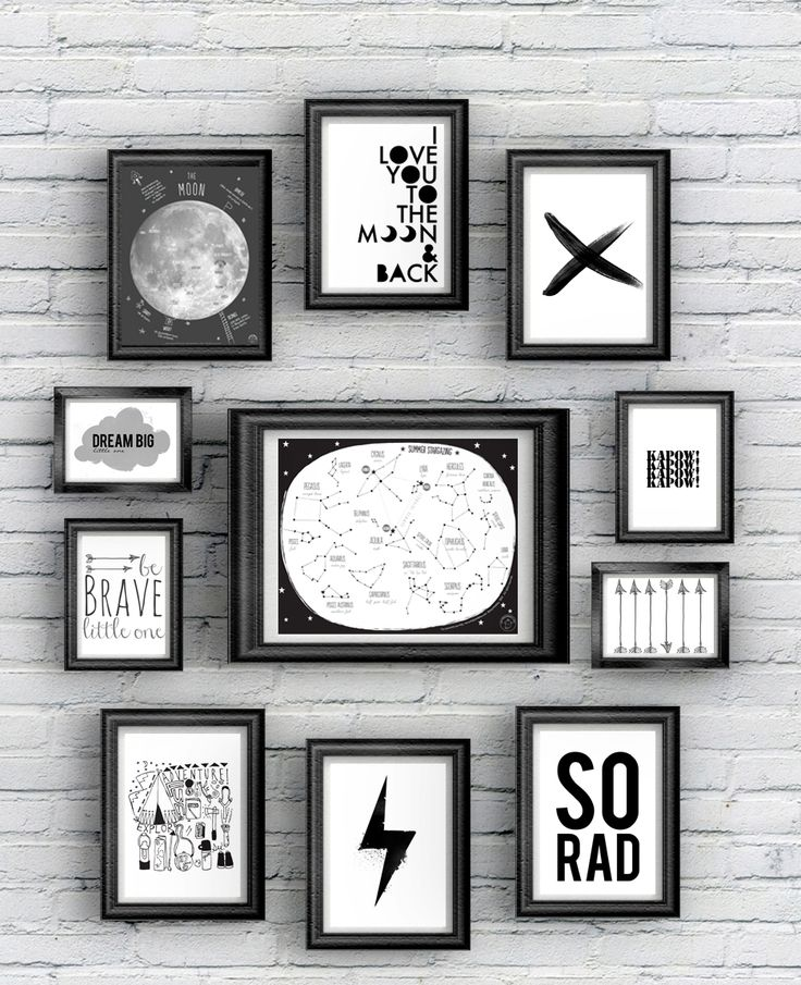 30 Free Printables for Kids' Rooms • Little Gold Pixel