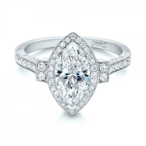 engagement rings marquise diamond and marquise cut engagement rings
