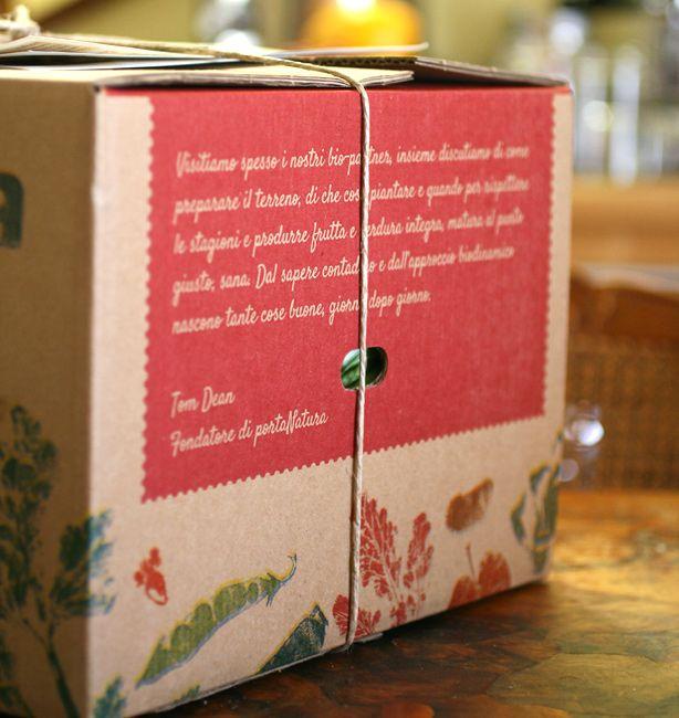Una bellissima scatola di portanatura.it. Chissà cosa si inventeranno per i cesti di Natale? http://www.ilpastonudo.it/associazione/i-cesti-consapevoli-del-2013/