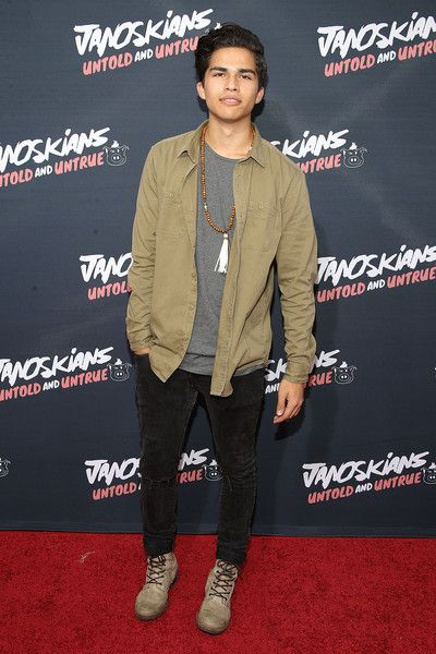 "Alex Aiono Photos - Alex Aiono attends the premiere of Awesomeness TV's ""Janoskians: Untold and Untrue"" at Regency Bruin Theatre on August 25, 2015 in Los Angeles, California. - Guests Attend the Premiere of Awesomeness TV's 'Janoskians: Untold and Untrue'"