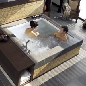 Consonance Two Person Whirlpool Bathtub by french_violet