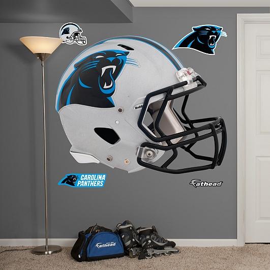 Carolina Panthers 2012 Helmet