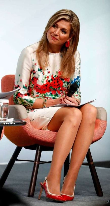 25/04/2017 Queen Máxima attended the  G20 Women's Summit held in Berlin today.     Máxima  attended the summit in her role as the UN Secretary General's Special Advocate for Inclusive Finance Development     Photo: Clarin.com