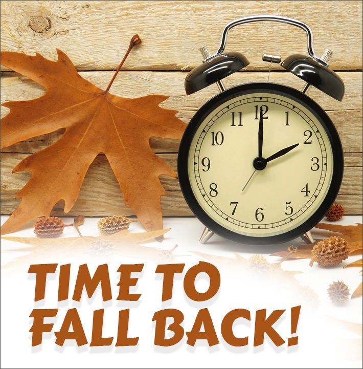 Set your clock back one hour on Saturday night! Now is also the perfect time to check and change batteries in safety devices like smoke detectors and carbon monoxide detectors. With winter just around the corner, make safety a priority when you change the clocks!...