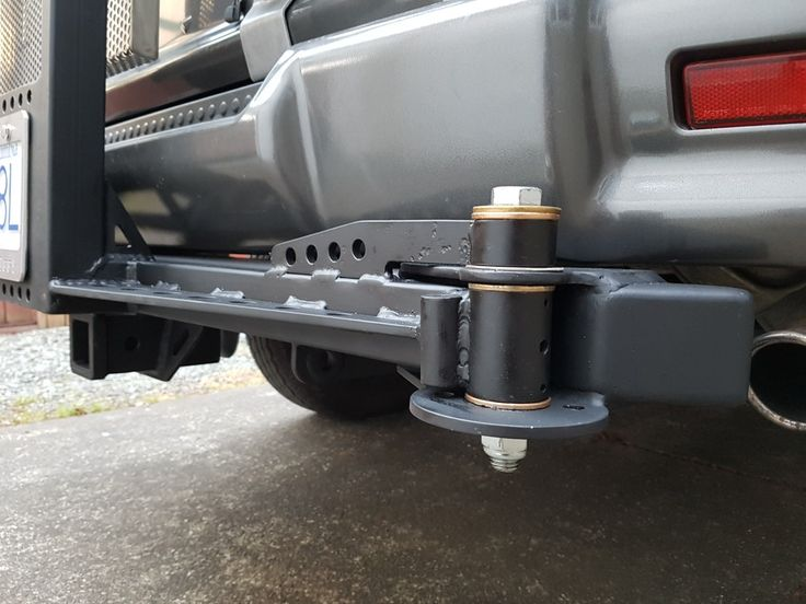 Tailgate swing out spare tire pivot. Delica L400 campervan