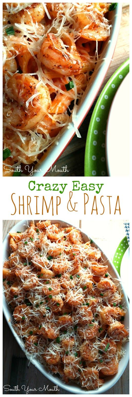 South Your Mouth: Easy Shrimp with Pasta