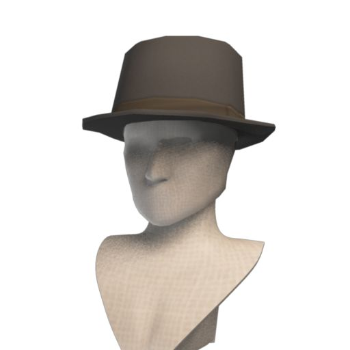Front Row Wool Trilby Hat