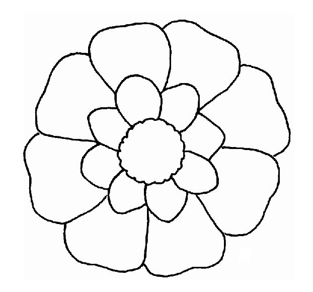 flower print out coloring pages - photo#2